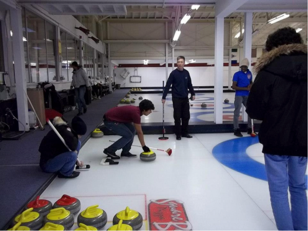 CultureWorks students learn a sport Canadians love called Curling